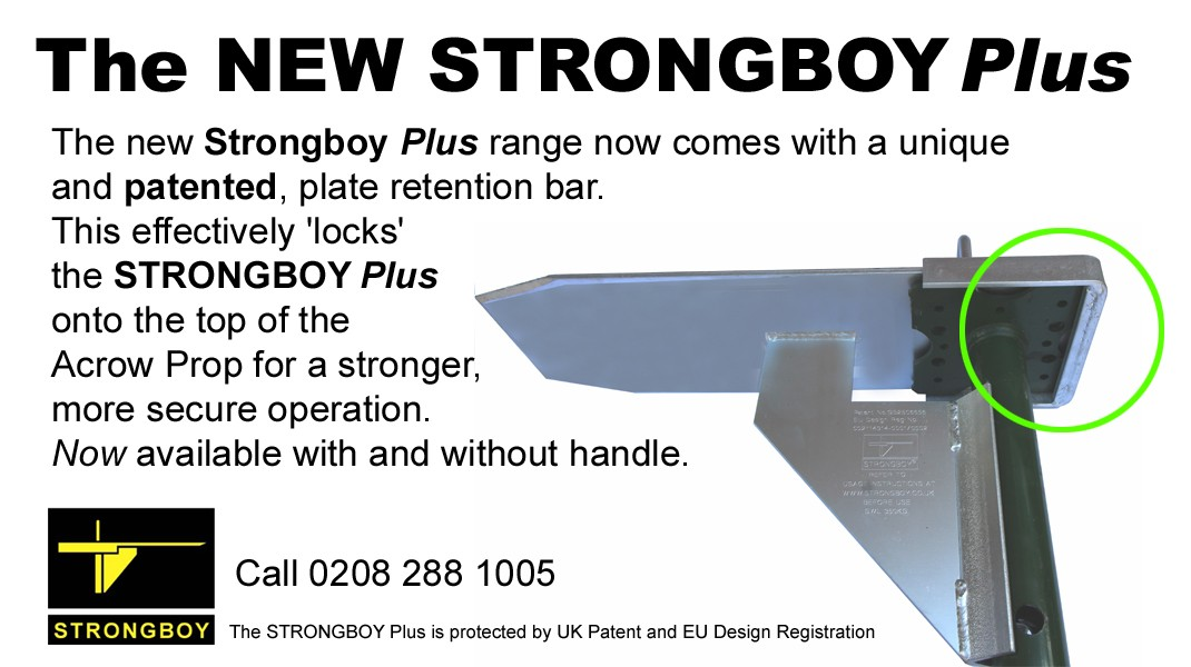 The NEW STRONGBOY® Plus Range!  now available!!