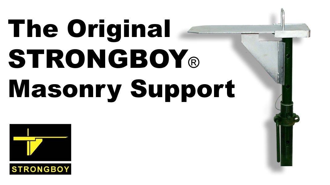 Buy your GENUINE Strongboy  ® Masonry supports direct from the legal manufacturer.