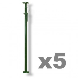 Pack of 5 - Size 1  Acrow Props