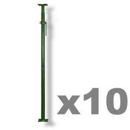 Pack of 10 -  Size 1 Acrow Props